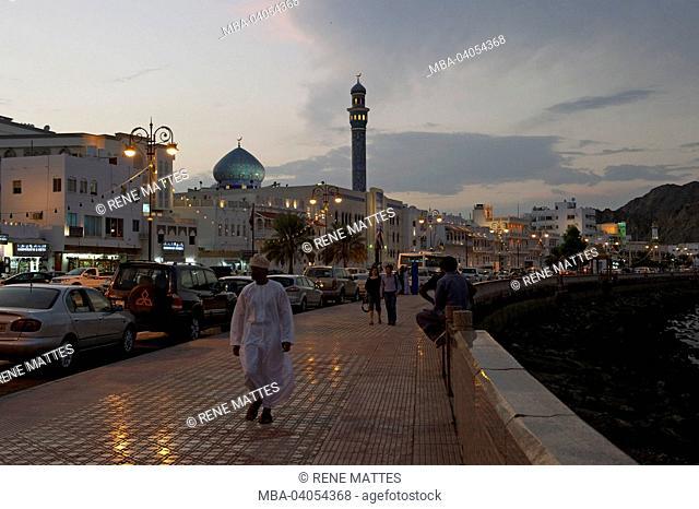 Sultanate of Oman, Muscat, Muttrah corniche