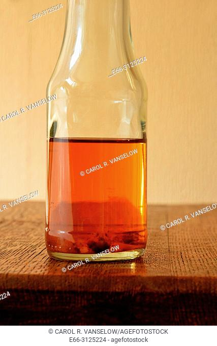 If there's a 'grandmother' in your apple cider vinegar (that fuzzy stuff at the bottom) it isn't a bad thing - it means your vinegar is pure
