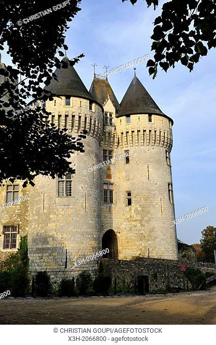 Castle St-Jean, Nogent-le-Rotrou, Parc naturel regional du Perche, Eure & Loir department, region Centre, France, Europe