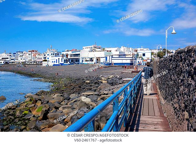 -Agaete Village- Canary Island Spain