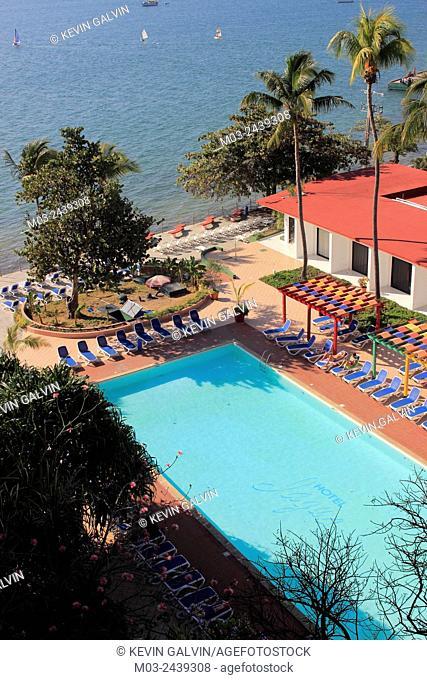 Tropical swiming pool Hotel Jagua Cienfuegos Cuba