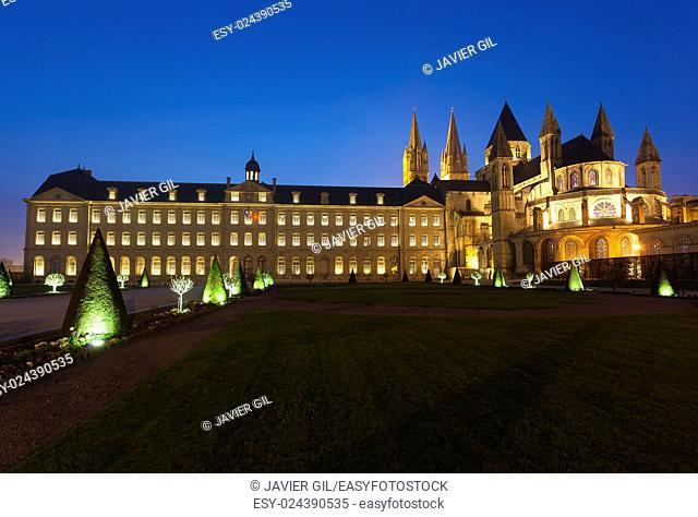 L'Abbaye-aux-Hommes, Church of Saint Etienne, Caen, Normandy, France