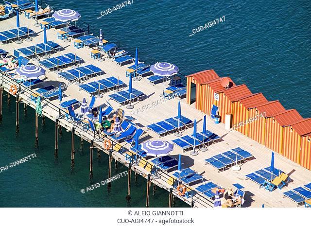 Harbour, Marina Grande Sorrento, Penisola Sorrentina, Napoli, Campania, Italy, Europe