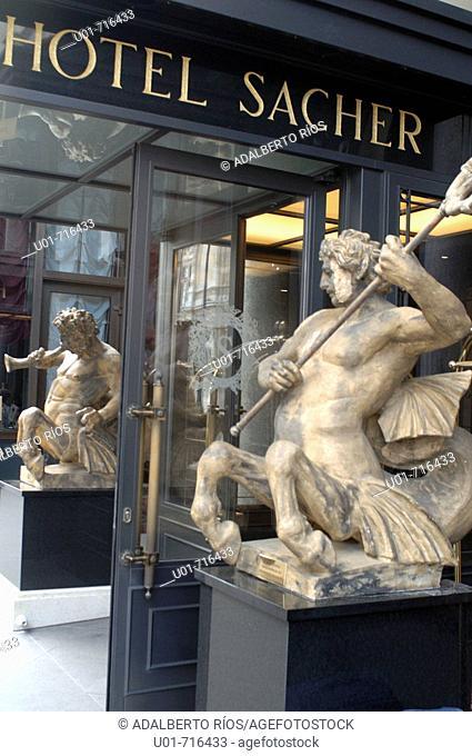Hotel Sacher (founded 1876). Vienna. Austria