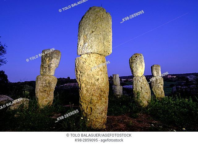 Son Corró ,yacimiento arqueológico, santuario, situado en el municipio de Costitx, datado en la época postalayótica , s. V-II A