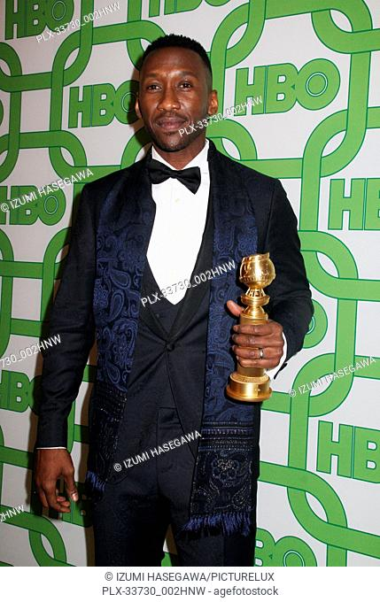 Mahershala Ali 01/06/2019 The 76th Annual Golden Globe Awards HBO After Party held at the Circa 55 Restaurant at The Beverly Hilton in Beverly Hills