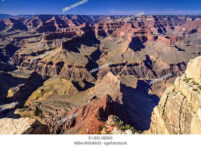 The USA, Arizona, Grand canyon National Park, South Rim, Pima Point