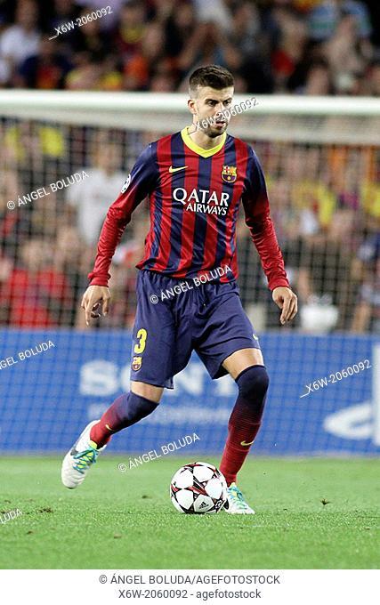 FC Barcelona. Gerard Piqué in action