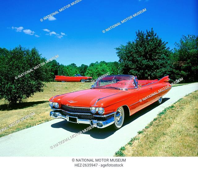 1959 Cadillac Series 62 . Artist: Unknown