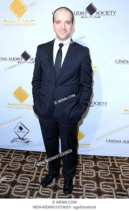 53rd Annual Cinema Audio Society (CAS) Awards at Omni Los Angeles Hotel at California Plaza - Arrivals Featuring: Nuno Fonseca Where: Los Angeles, California