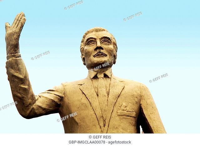 José Augusto de Medeiros statue, Cidade Alta, Natal, Rio Grande do Norte, Brazil