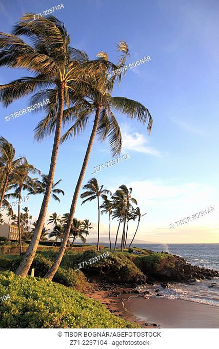 Hawaii, Maui, Wailea, beach,