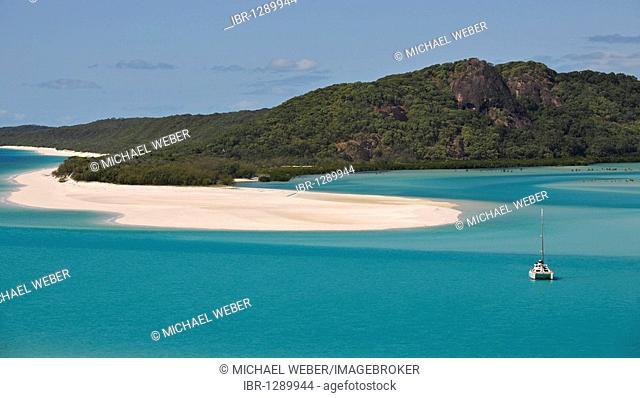 Whitehaven Beach, Whitsunday Island, Whitsunday Islands National Park, Queensland, Australia