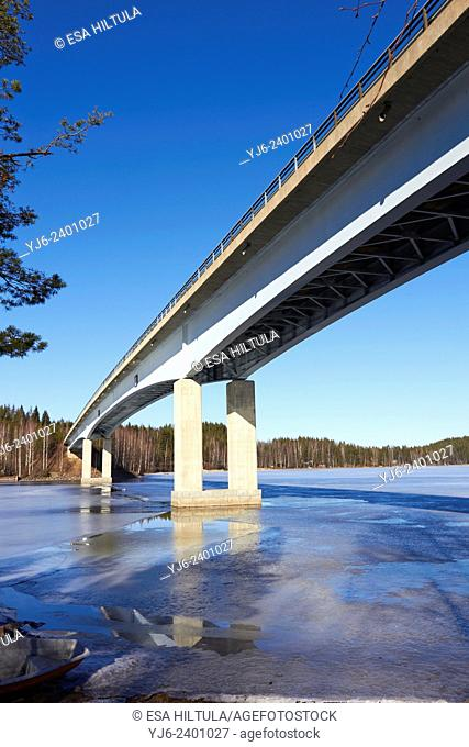 Bridge of Lietvesi, Puumala Finland