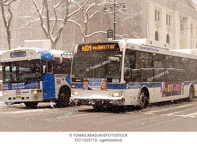 New York Winter Snow Storm, February 26, 2010