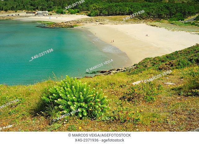Balares beach. Ponteceso, Galicia, Spain