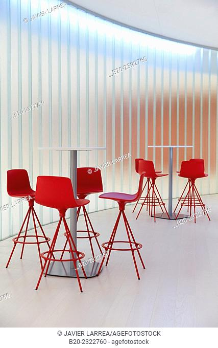 Meeting point. Lounge. Office building. Technology Park. Zamudio. Bizkaia. Basque Country. Spain