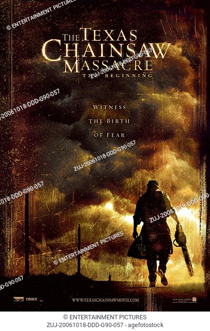 RELEASE DATE: October 6, 2006. MOVIE TITLE: The Texas Chainsaw Massacre: The Beginning. STUDIO: New Line Cinema. PLOT: On one last road trip before they're sent...