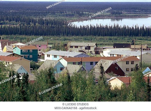 McKenzie River delta, Inuvik, Northwest Territories, Canada