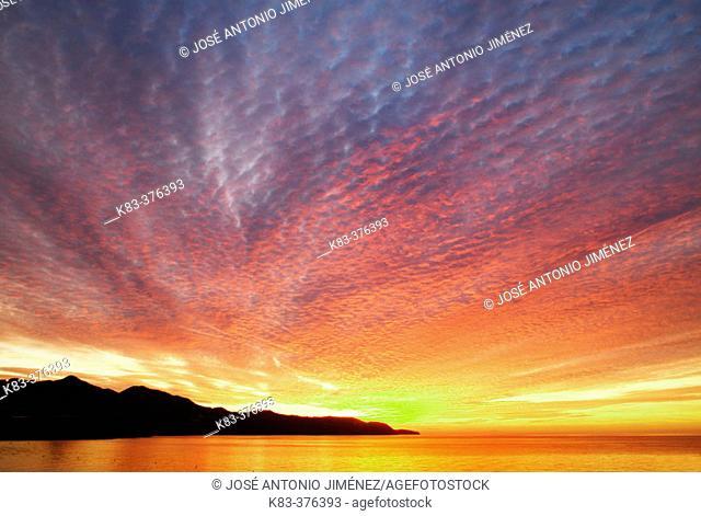 Sunrise. South of Spain