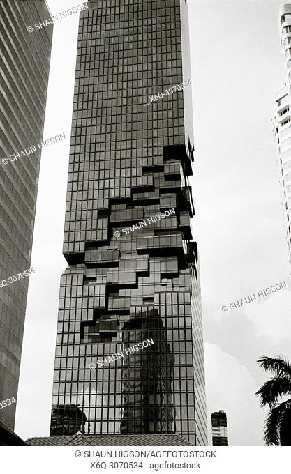 Corporate modern architecture in Bangkok in Thailand in Southeast Asia Far East