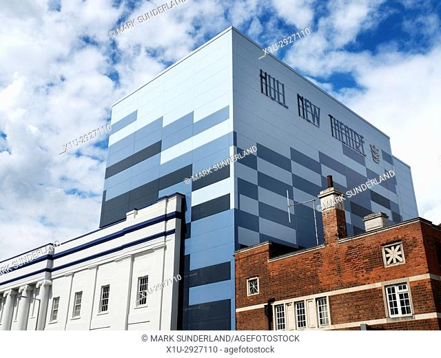 Hull New Theatre at Kingston Square in Hull Yorkshire England