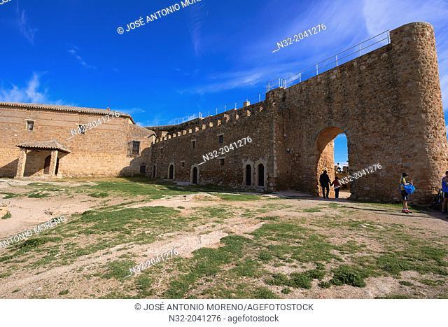 Argamasilla de Alba, Peñarroya Castle, Lagunas de Ruidera natural park, Ciudad Real province, Castilla-La Mancha, Route of Don Quixote, Spain