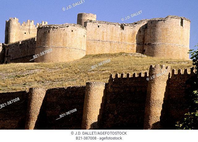 'El Cid' castle at Berlanga de Duero. Soria. Spain