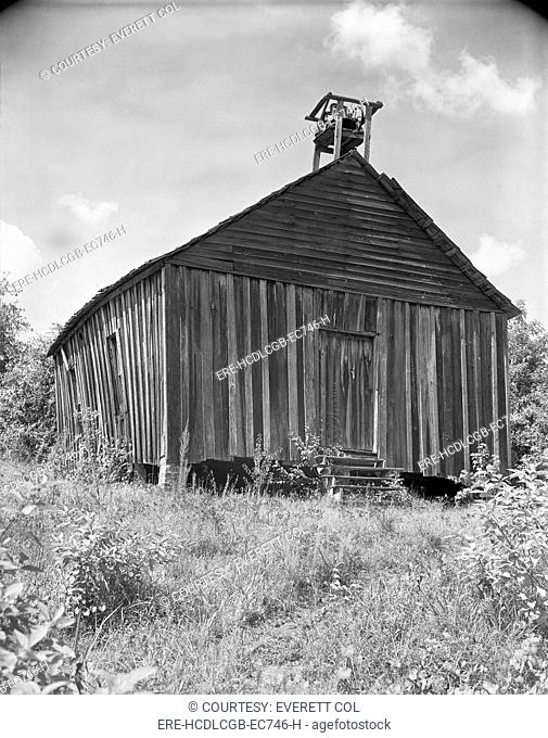 Church, Southeastern United States, photograph by Walker Evans, 1936