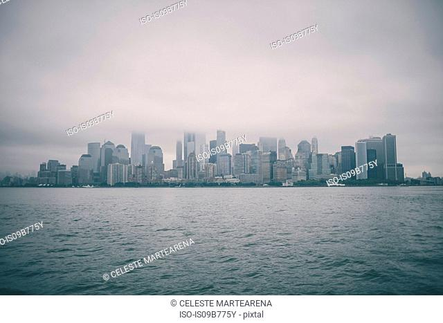 City skyline, New York, USA