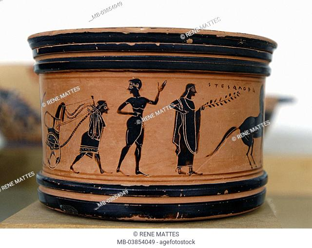 Greek Vase Painting Stock Photos And Images Age Fotostock