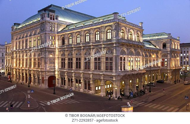 Austria, Vienna, Opera house, Staatsoper