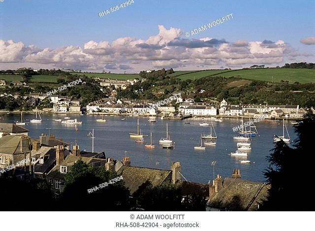 Falmouth harbour, Cornwall, England, United Kingdom, Europe