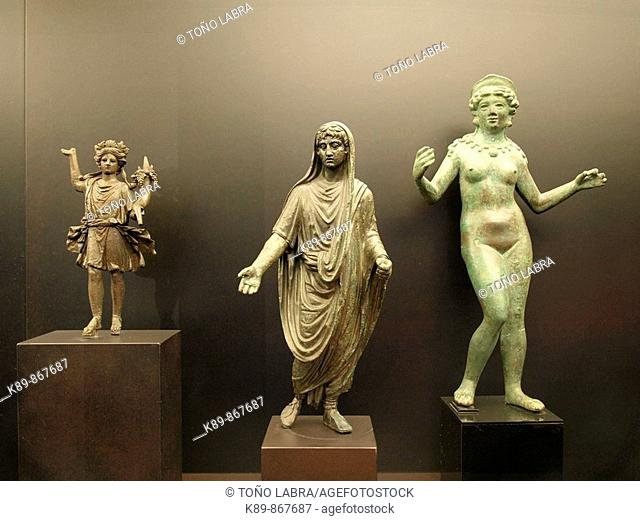 Esculturas. Museo Arqueológico Nacional. Madrid. España