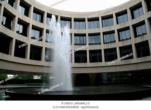Hirshhorn Museum and Sculpture Garden, Washington D.C, District of Columbia, United States, North America