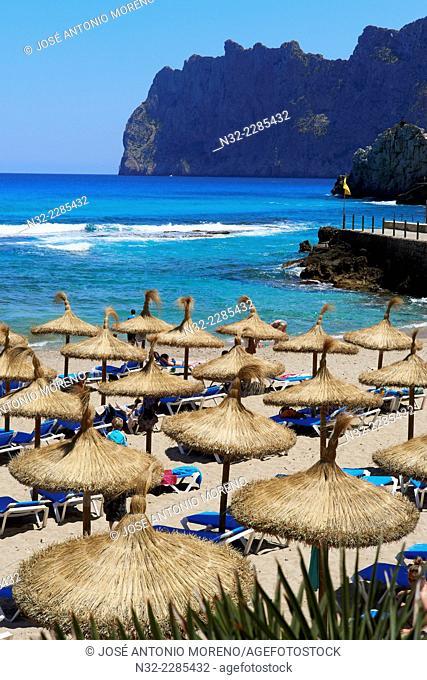 Balearic islands, Mallorca, Majorca Island, Cala San Vicente , Cala Sant Vicen, Pollena, Formentor Cliffs