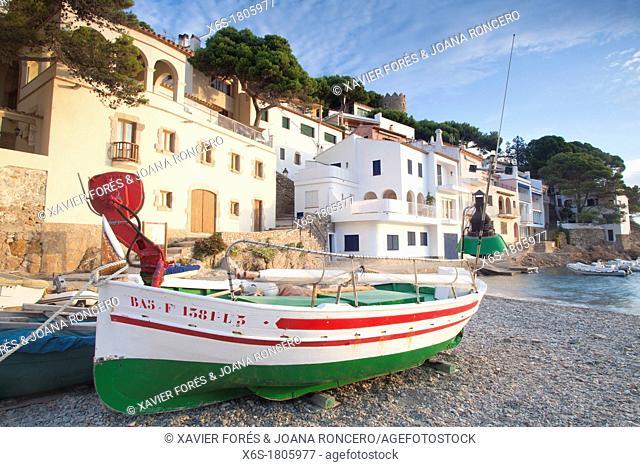 Sa Tuna cove, Begur, Costa Brava, Girona, Spain