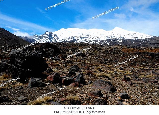 Mount Ruapehu, Tongariro National Park, New Zealand