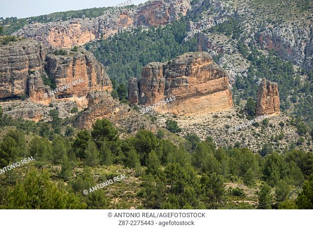 Cerro de La Rala microreserve, Sierra del Segura, Yeste, Albacete province, Castilla-La Mancha, Spain