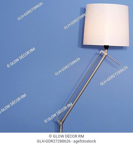 Close-up of a floor lamp