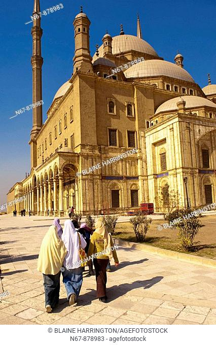 Mosque of Muhammad Ali, The Citadel, Old Cairo Islamic Cairo, Cairo, Egypt
