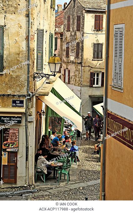 citadel, Corte, Corsica, France
