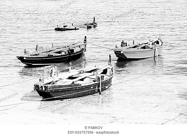 boats in Galicia, Spain