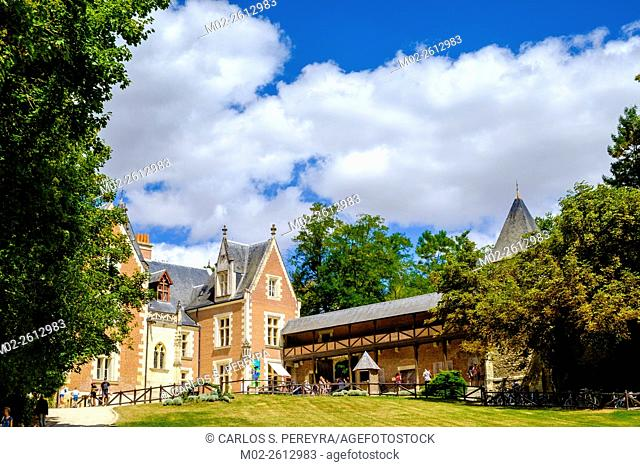 Le Clos Luce chateau in Amboise, Loire Valley, France