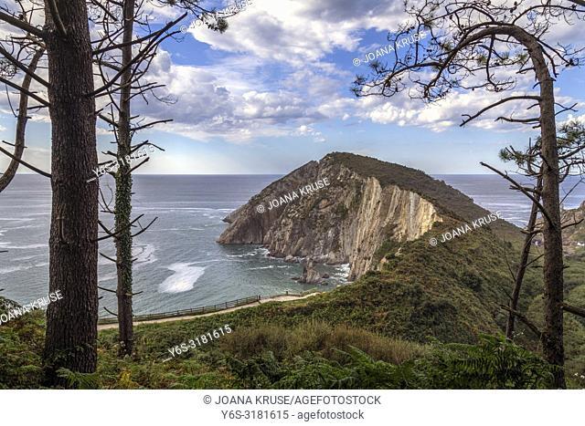 Playa del Silencio, Castaneras, Asturias, Spain, Europe