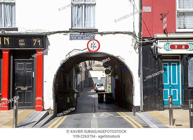 Augustinian Lane arch, Limerick, Munster province, Ireland