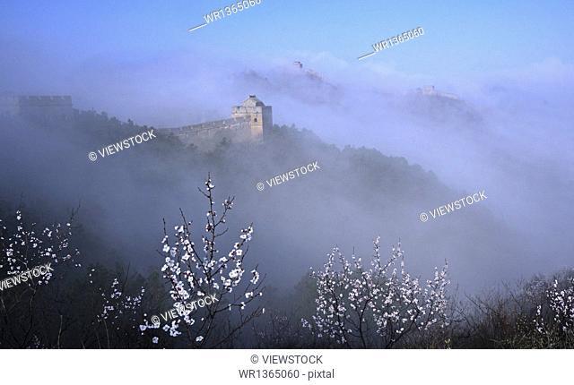 Jinshanling Great Wall in Hebei Province