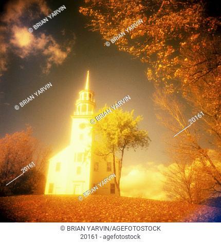 Church. Stafford. Vermont. USA