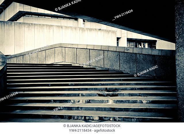 1960 Brutalist architecture, Paradise Place, Birmingham, UK
