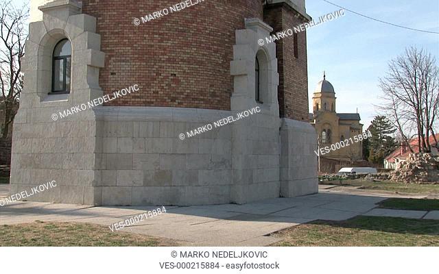 Belgrade, Zemun, Tower, Gardos, tilt up